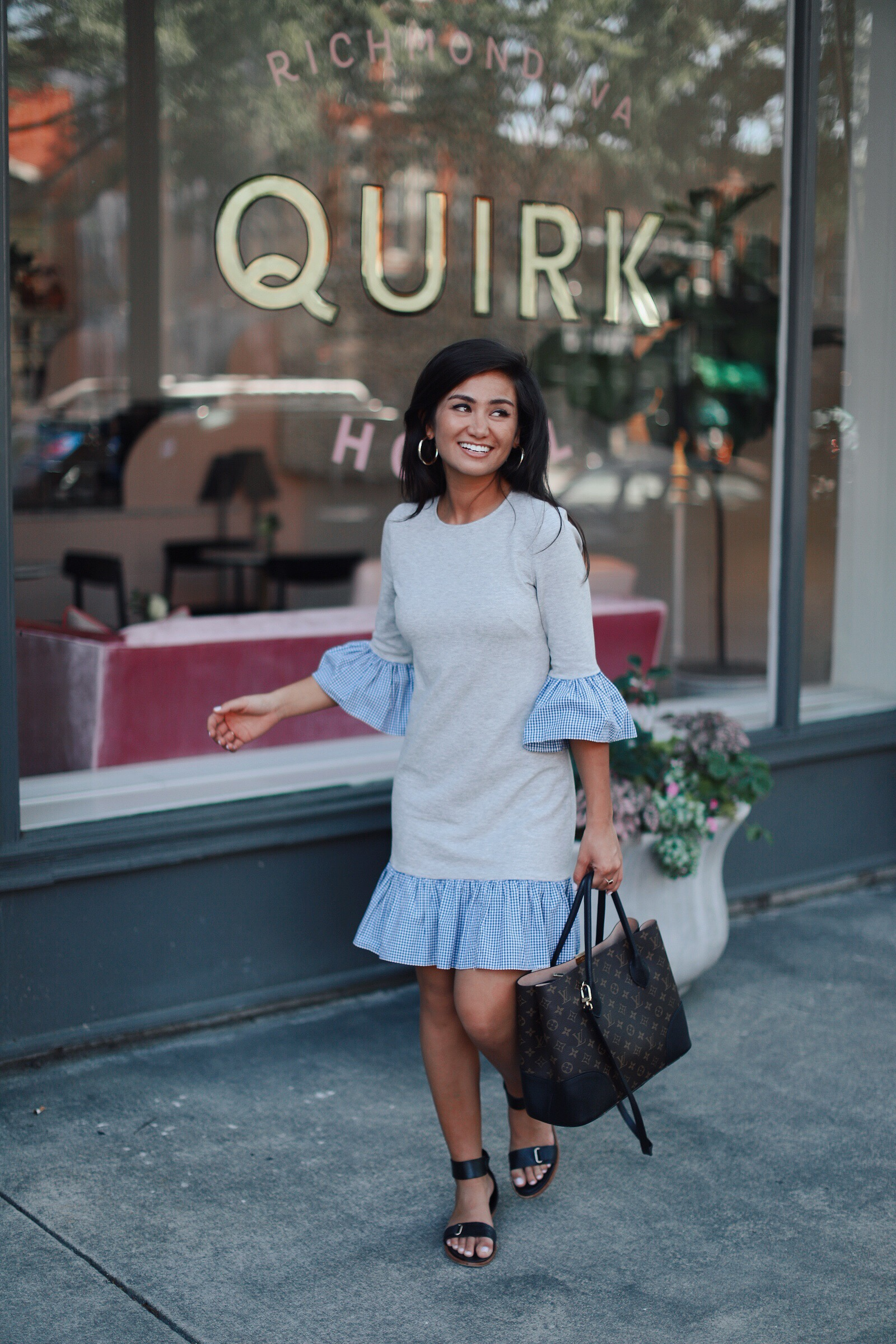Caila Quinn The Bachelor in Richmond Virginia at the Quirk Hotel