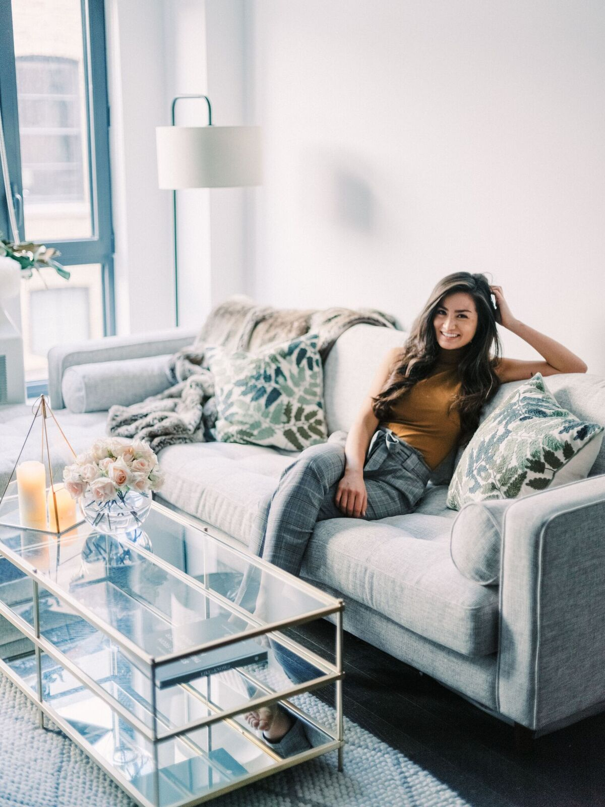 The Bachelor Caila Quinn Cozy Couch Apartment Decor Article Furniture