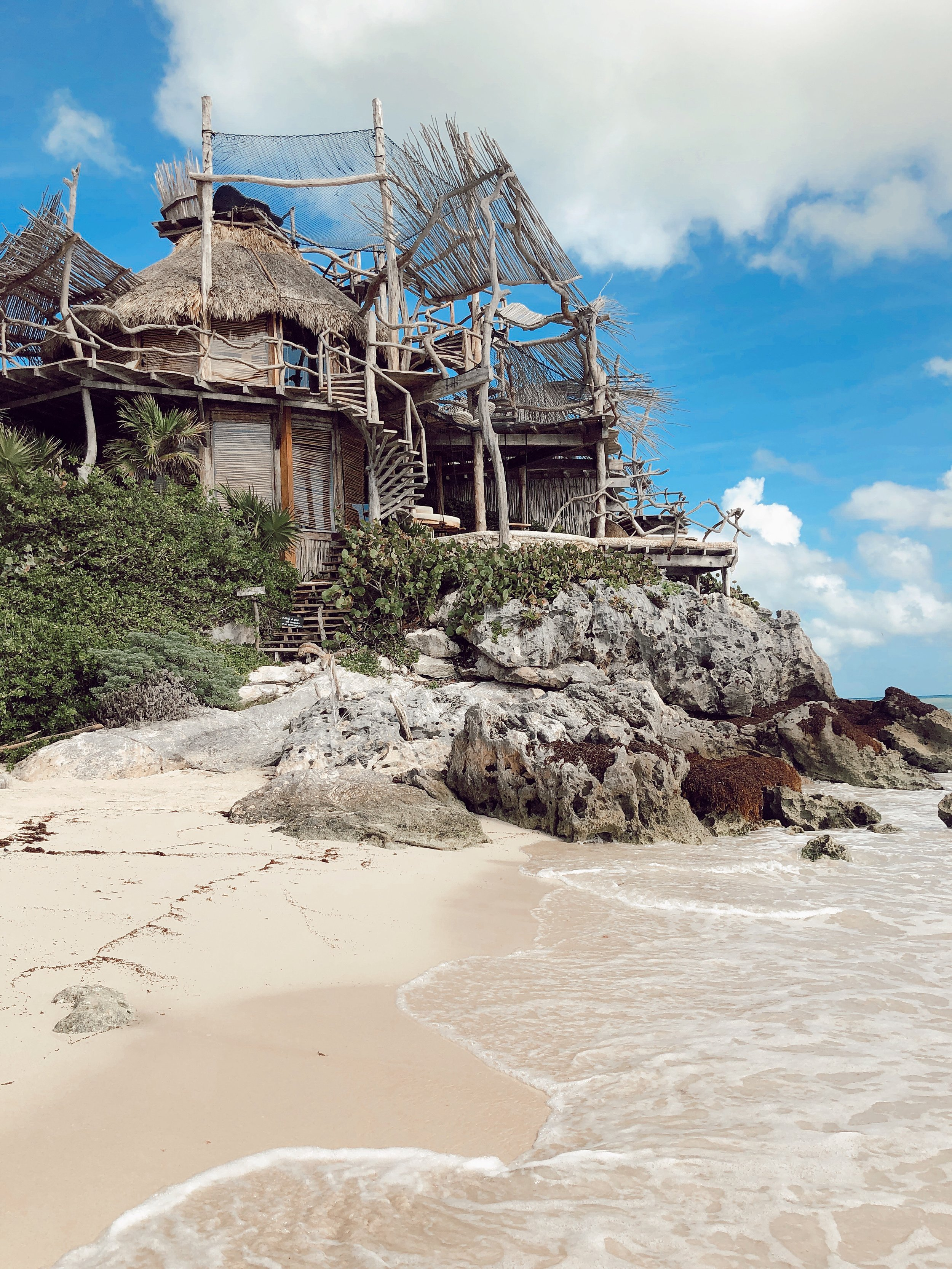 Travel Guide Tulum Mexico Top 20 Vacation Ideas with The Bachelor Caila Quinn Travel Blogger Don't Like Azulik Hotel