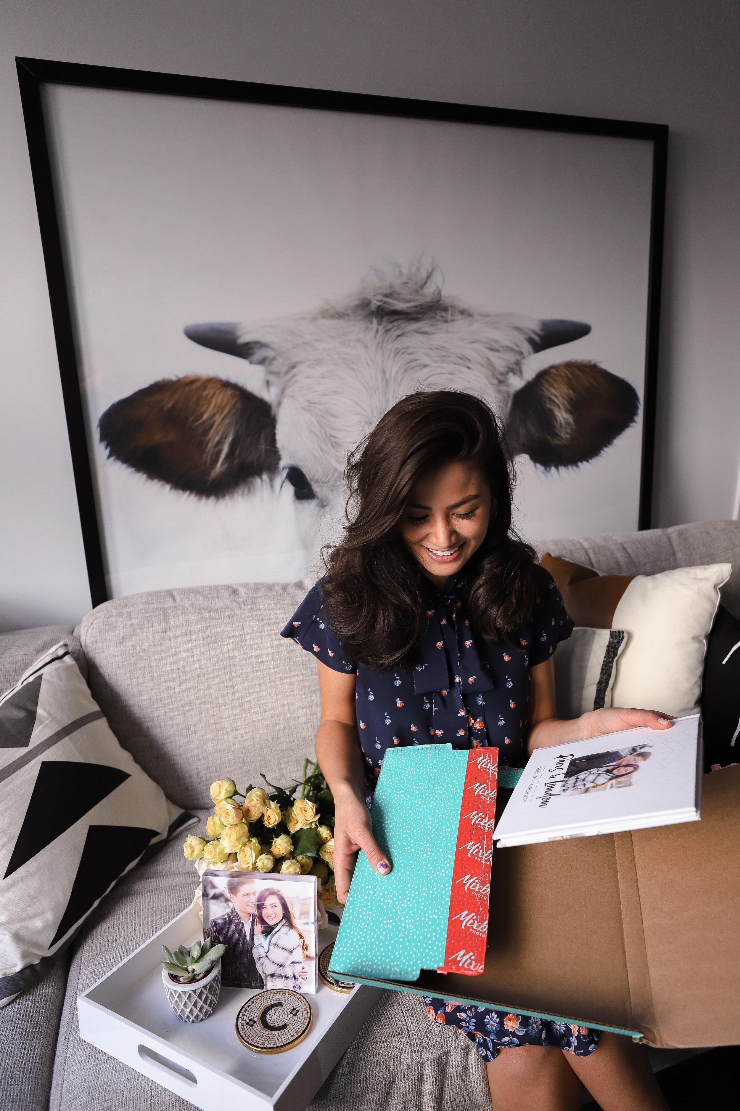Caila Quinn the Bachelor Mixbook Photo Album with Boyfriend Nick