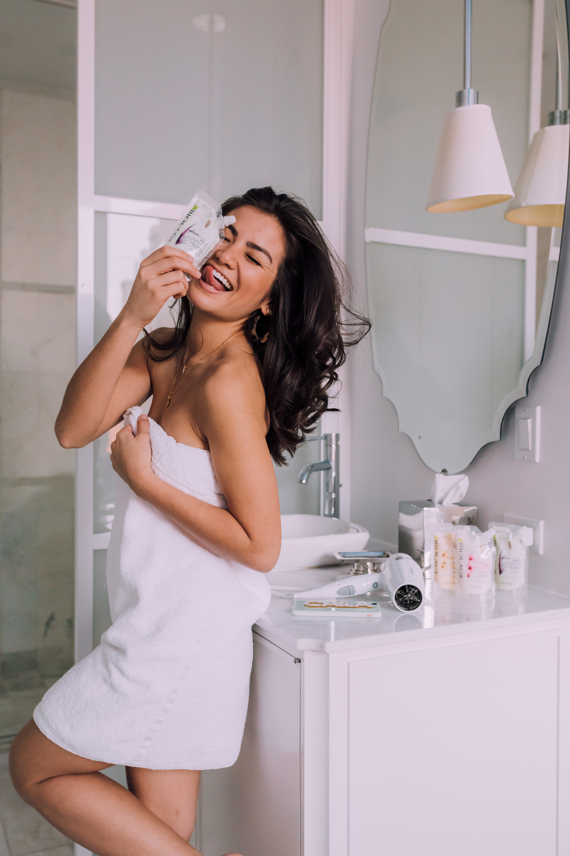 Caila Quinn The Bachelor Hair Biolage Deep Treatment Masks
