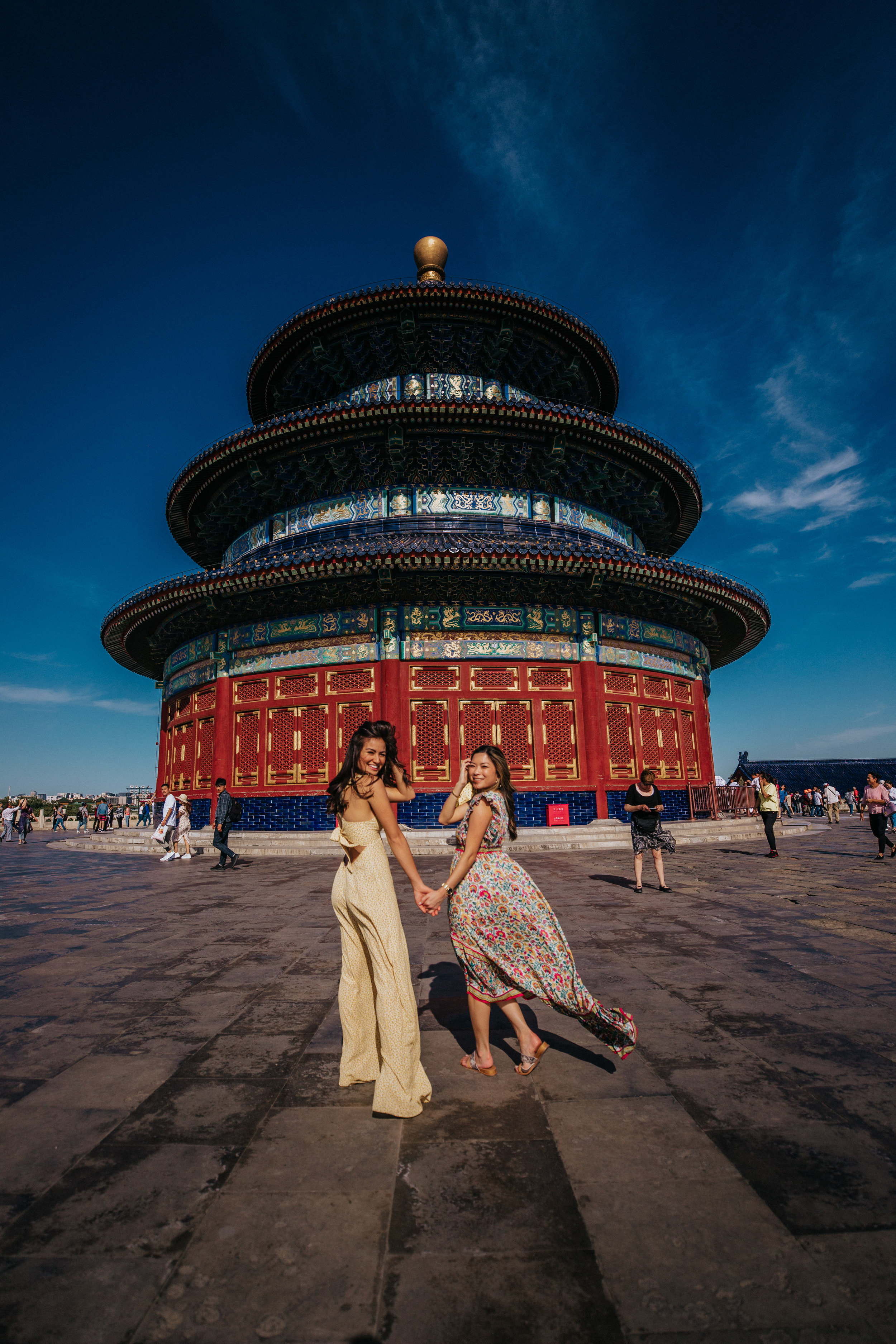 caila quinn the bachelor travel blogger china beijing what to pack for Asia