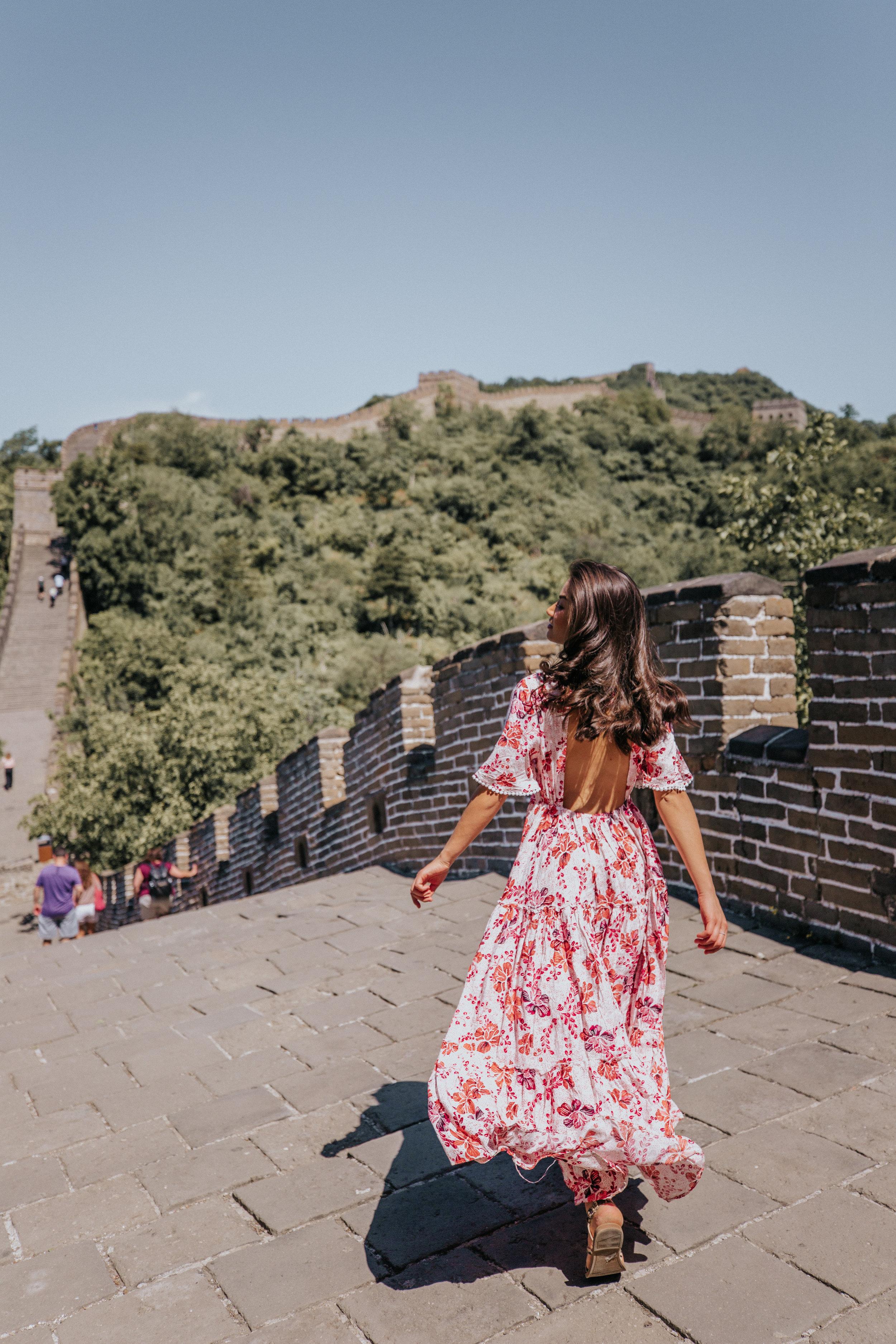 caila quinn the bachelor travel blogger china beijing Asia Travel Guide
