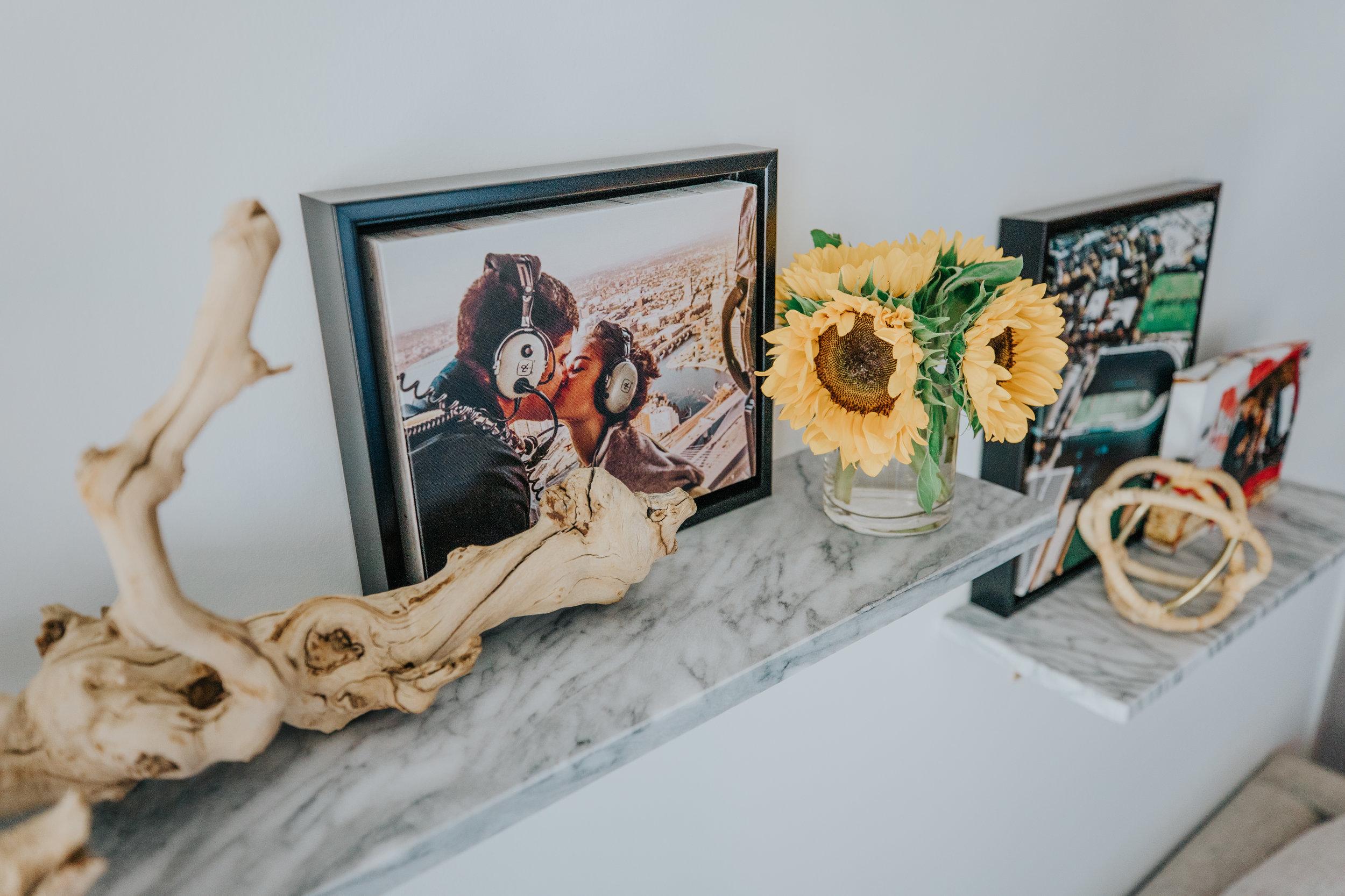 caila quinn the bachelor Mixbook canvas print photo shelves decor