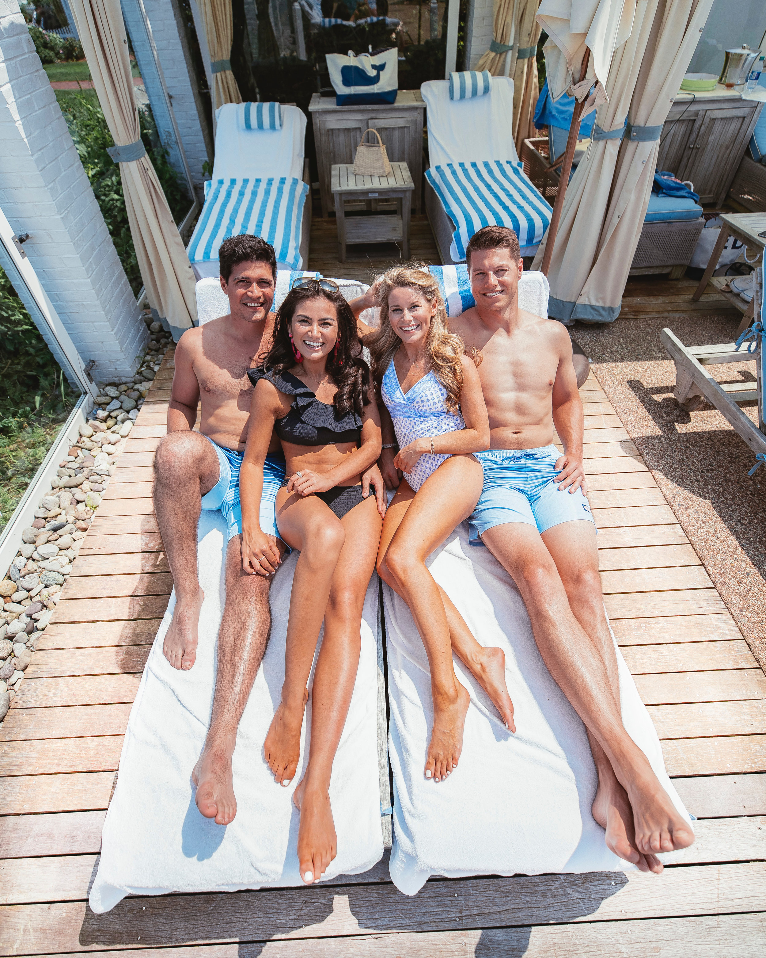 Caila Quinn The Bachelor Cape Cod Chatham Bars Inn Couples Weekend With Nick Burrello Olivia Rink and Vineyard Vines Travel Guide Vacation in the Northeast Beach Town