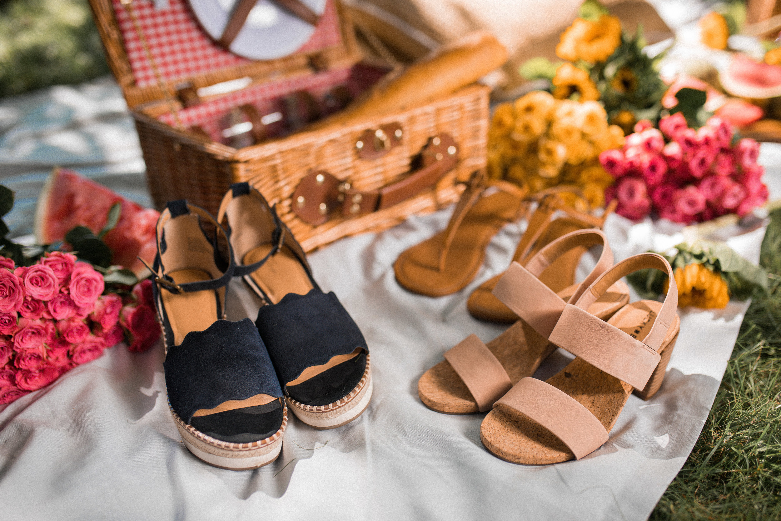 Caila Quinn The Bachelor DSW Style Squad New York Shoe Lover Central Park Girls Ladies Picnic