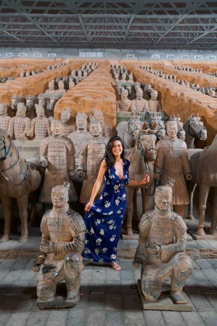 Caila Quinn The Bachelor Xian China Shangri La Hotel Terracotta Warriors