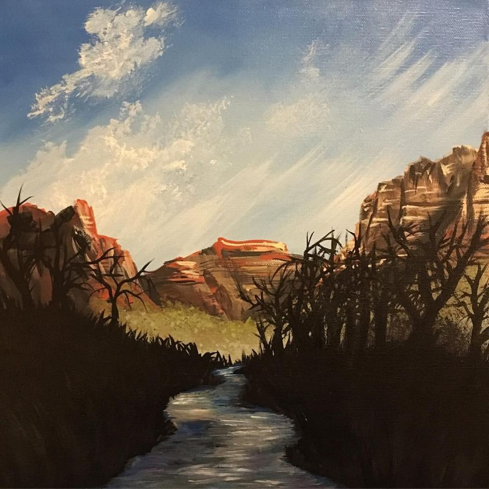 so far improved from my zion painting from this time last year, so thats a plus