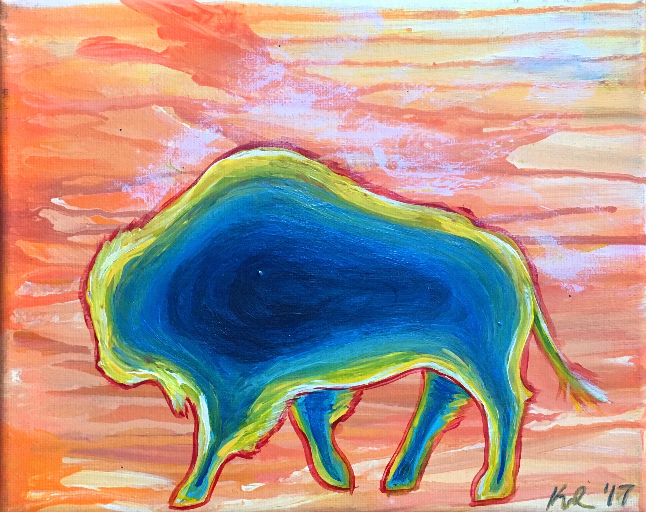 prismatic bison