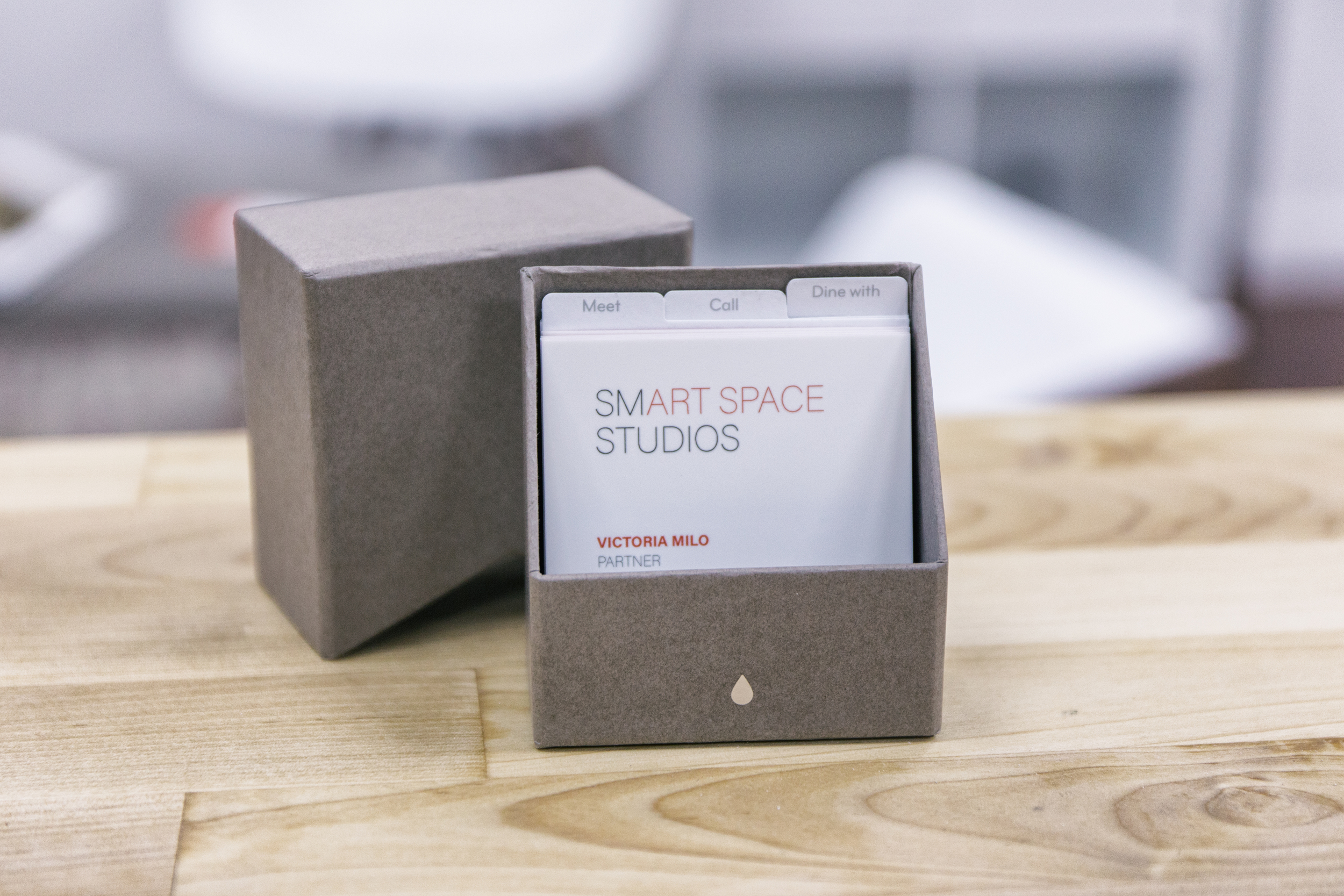 Artist Studio business card