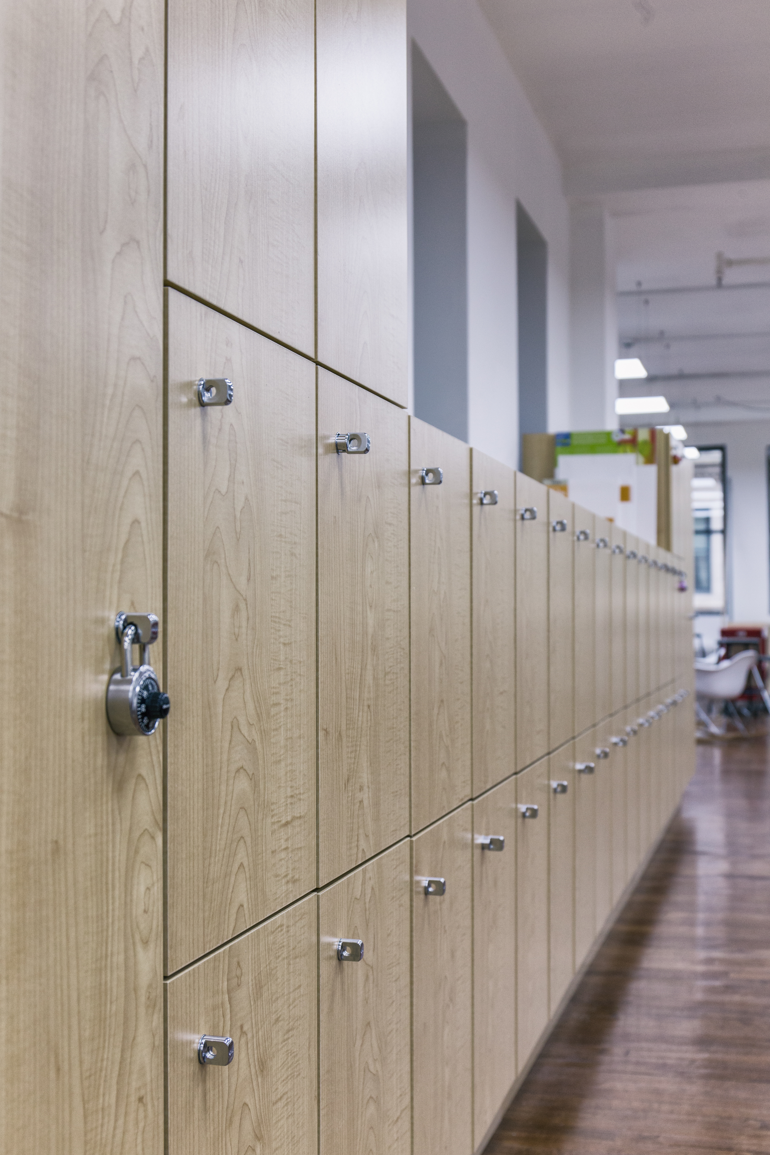 Studio lockers