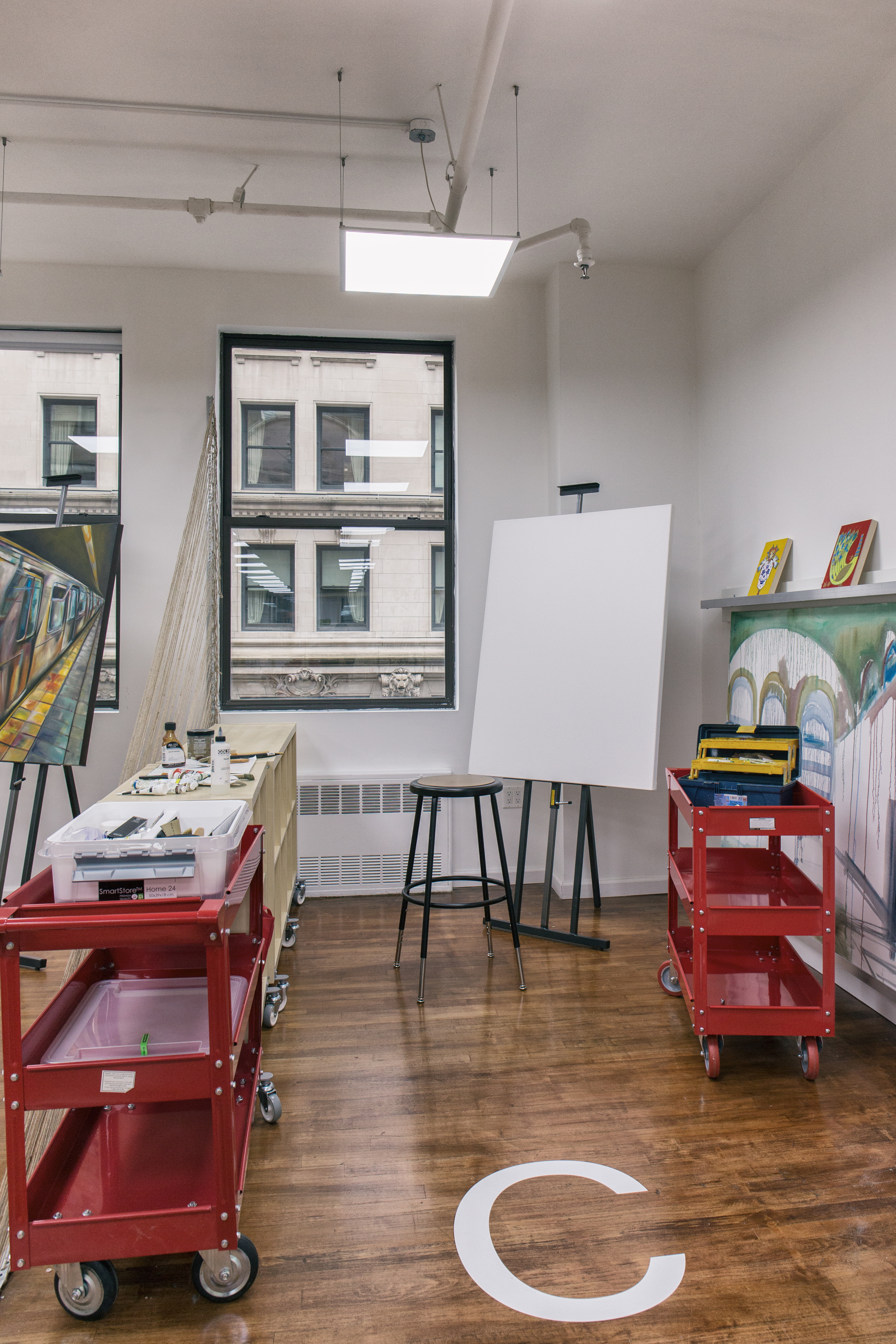 New York Artist Studio B