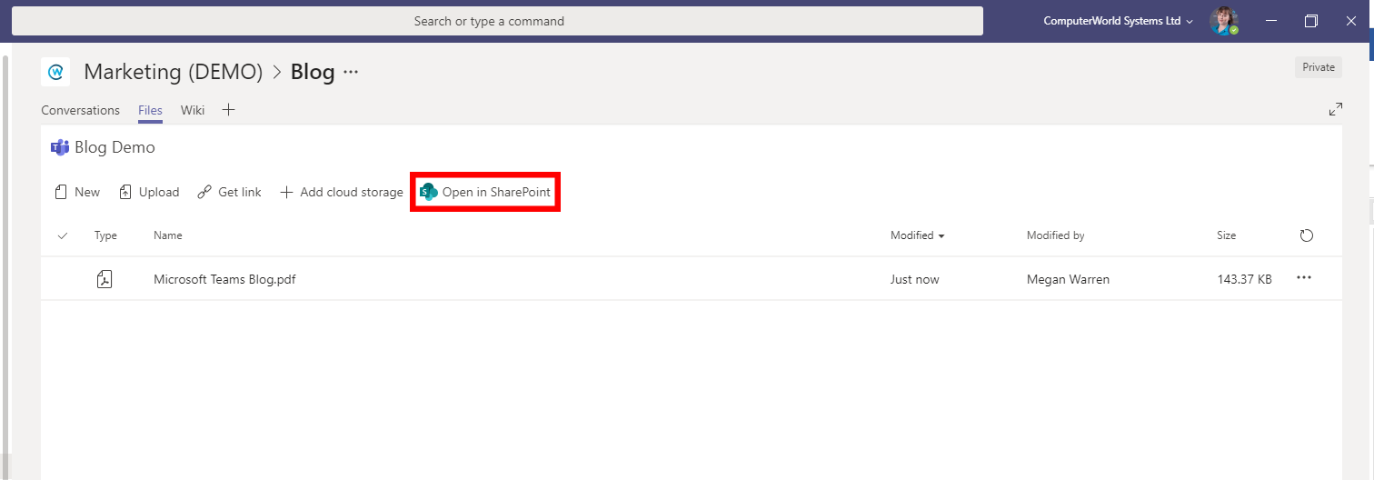 How to update documents in Microsoft Teams — Migrate 365