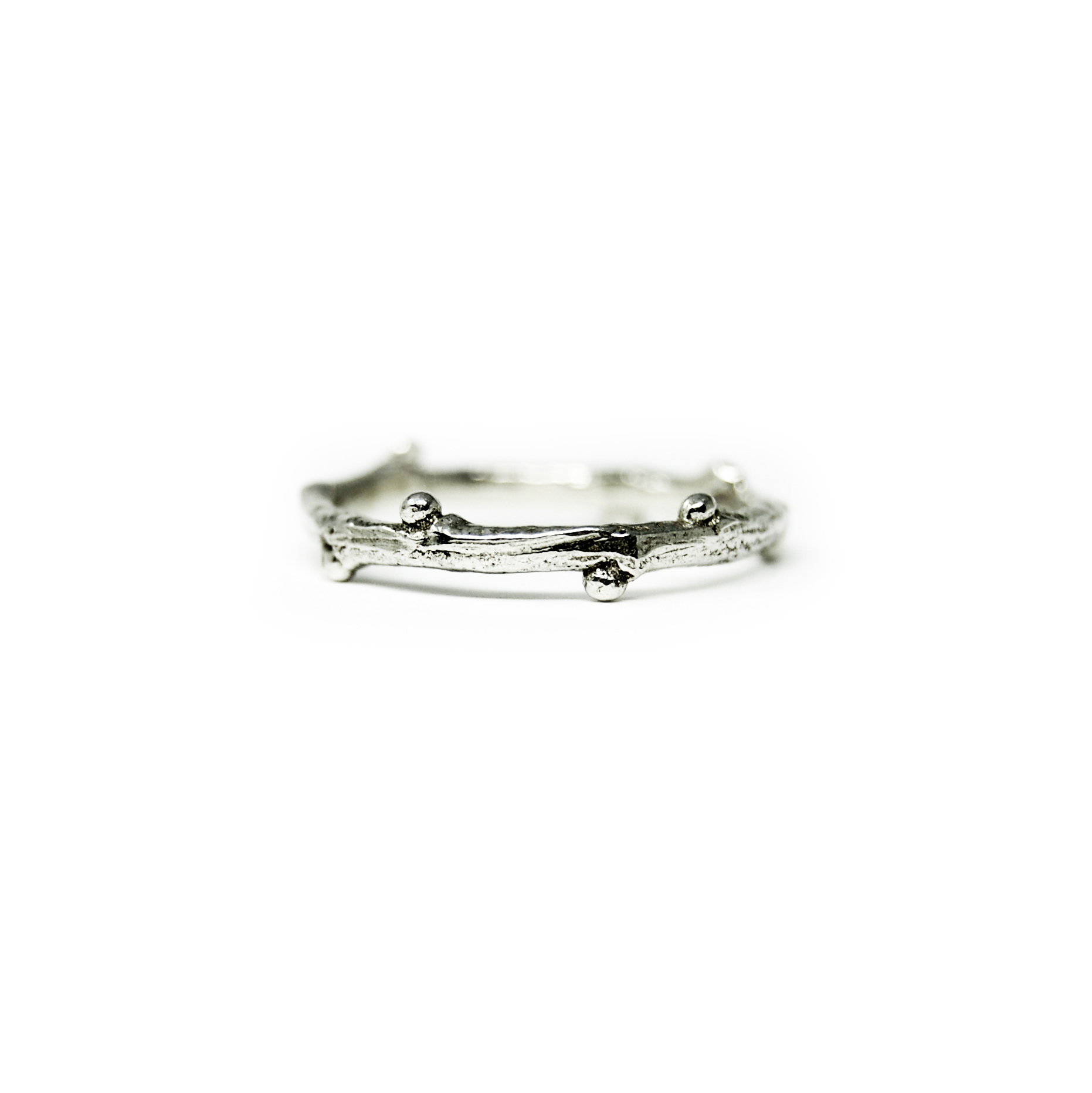 Twig Ring in Sterling Silver $48.00