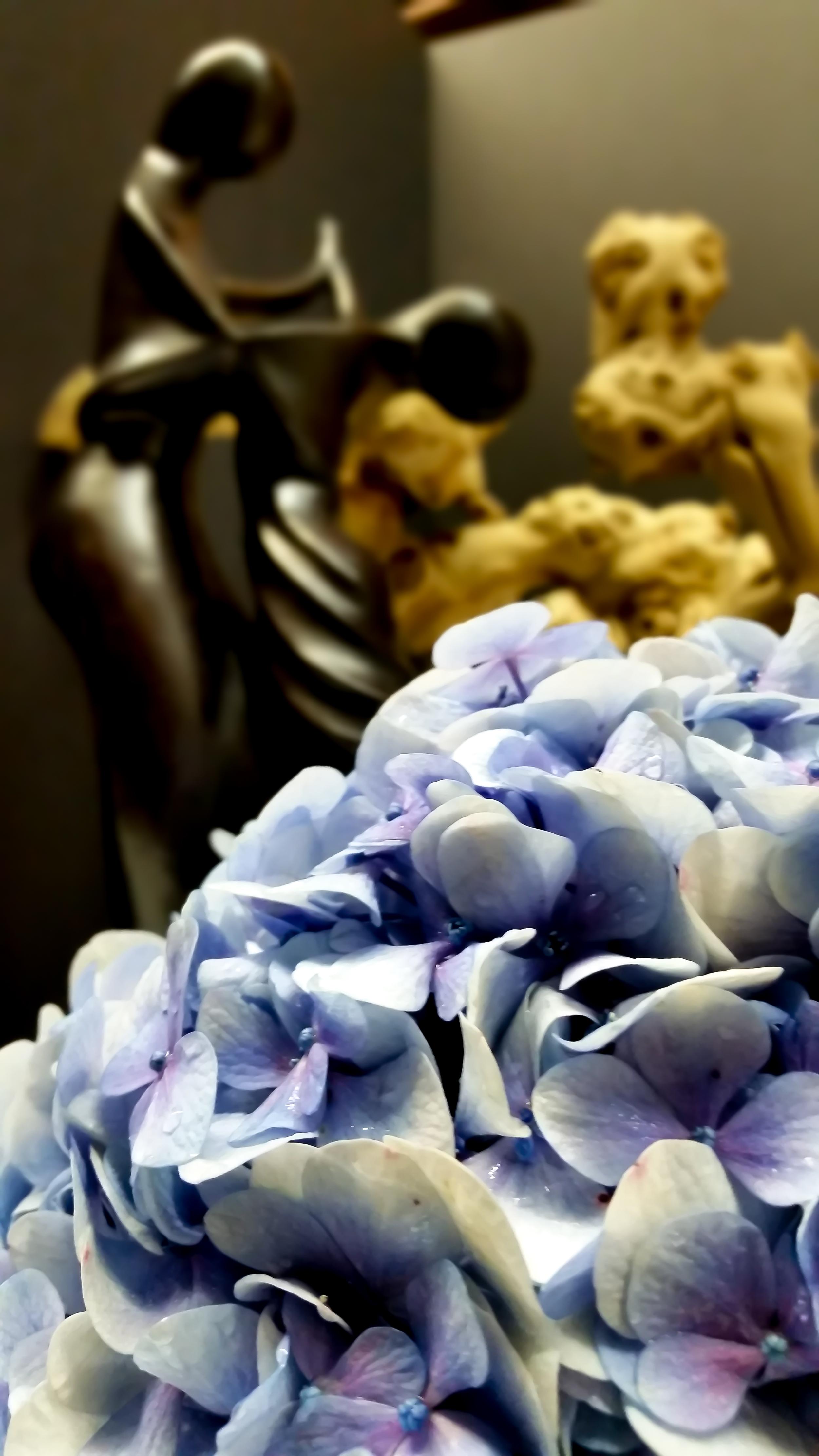 Antique Blue/Lavender