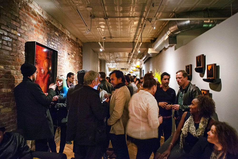 - The space at Artion Gallery for Carmen Molina Undercurrents