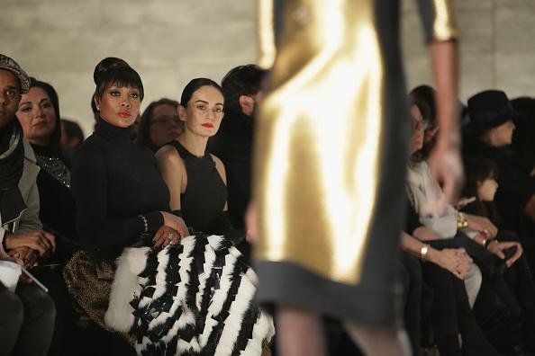 Angel Sanchez - Front Row - Mercedes-Benz Fashion Week Fall 2015