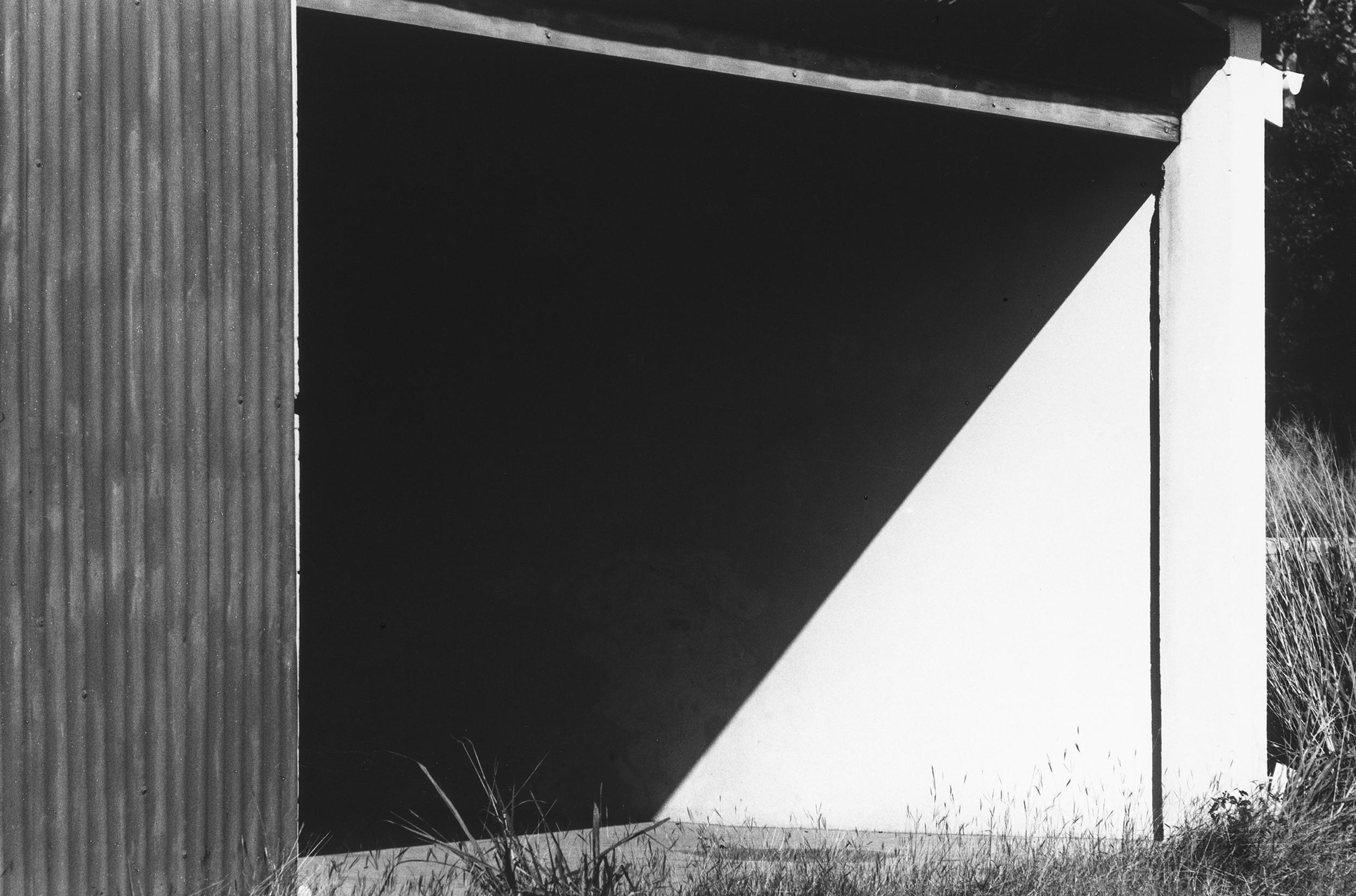 Kelly_Hangar Doorway, St. Barts_1977