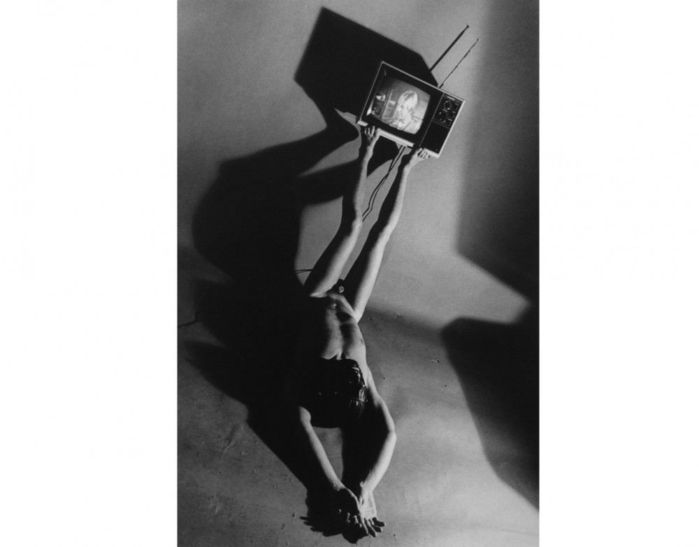 Television, 1979 Vintage gelatin silver print
