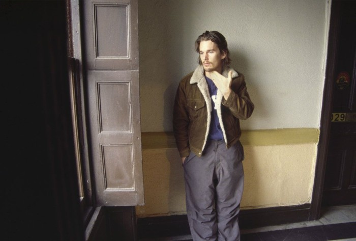 Image above:   ©Linda Troeller. Ethan Hawke, Actor, 10th floor, 2000.