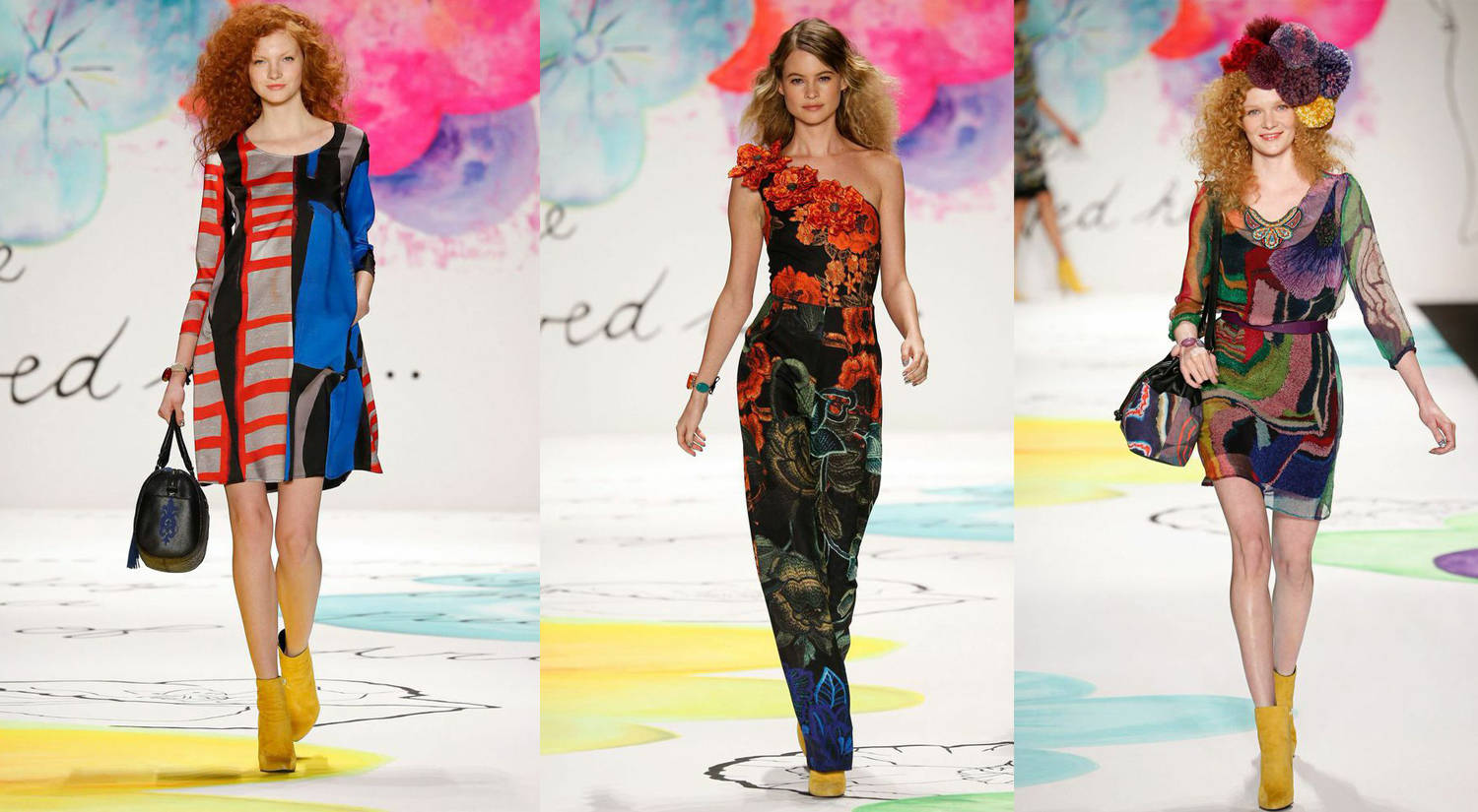 Images above: Images by the courtesy of Desigual