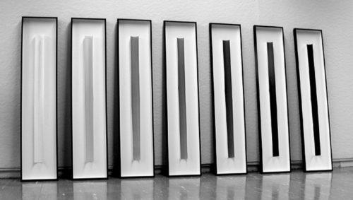 Image above: ©Gottfried Jäger,Gradation (Photo paper work XXII 1983, 1-7), 1983 / Courtesy Steven Kasher Gallery, New York