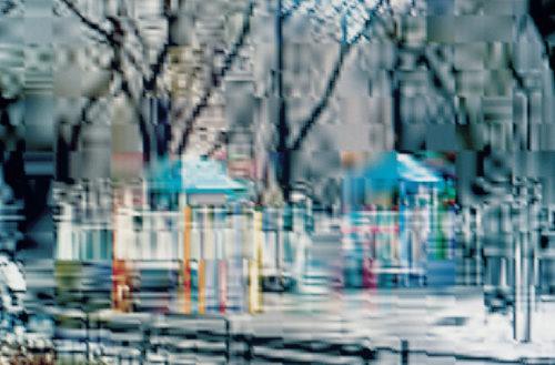 Image above: ©Olaf RAUH,Playground 9 , 2001,Ilfoflex