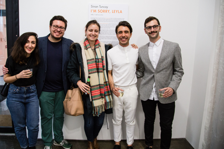 Image above: ©Elizabeth Mealey, Opening Night, Sinan Tuncay (in white)