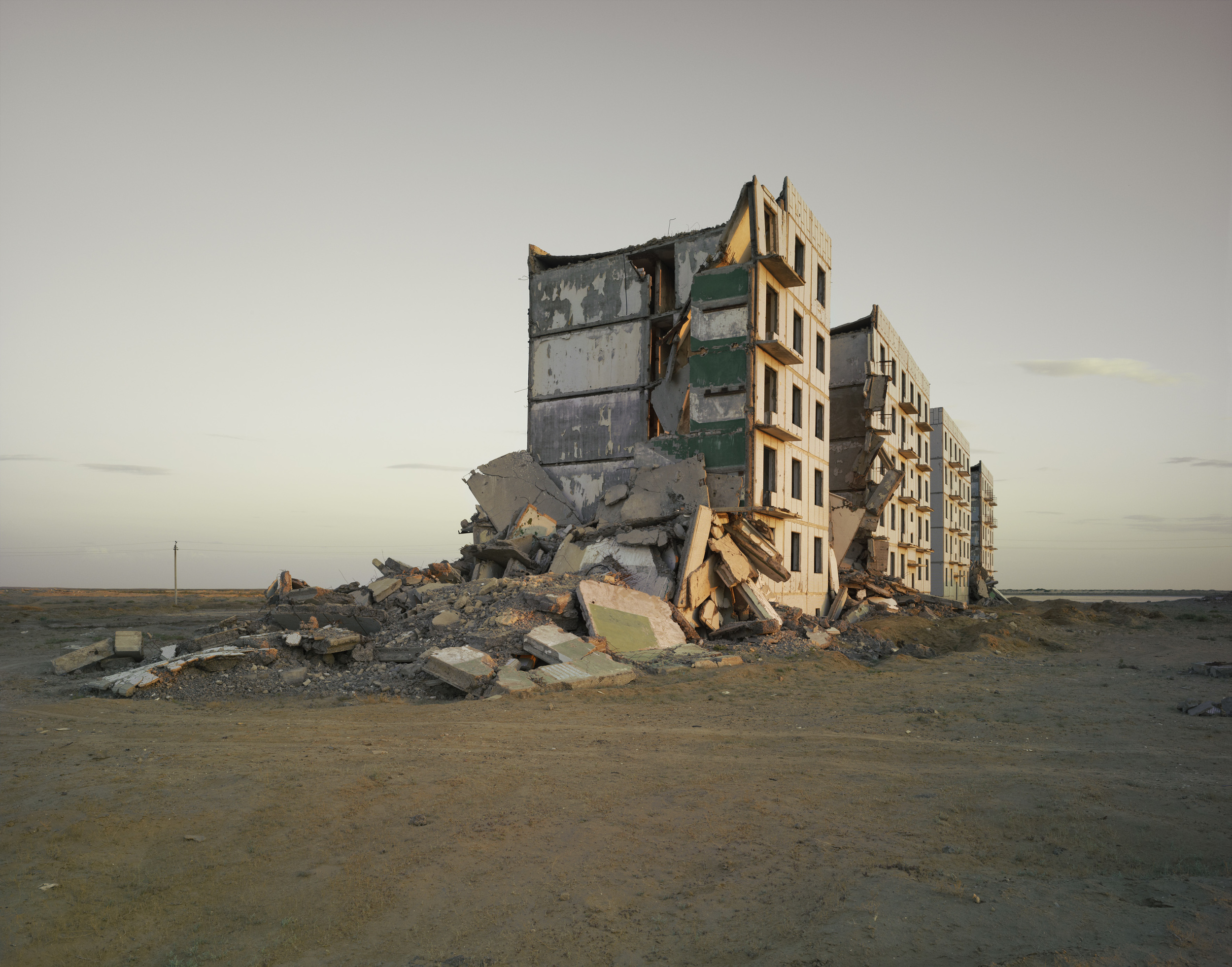 The Aral Sea I (Officers' Housing), Kazakhstan 2011