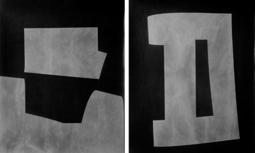 Image above: ©Gottfried Jäger,Passepartout (I) (Two-part photo work XXVIII 2000; XXIX 2000), 2000 / Courtesy Steven Kasher Gallery, New Yor