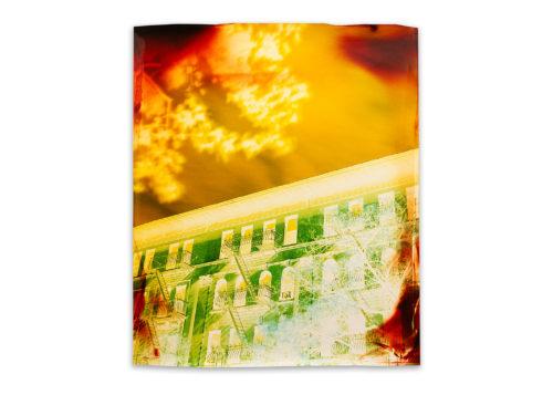 Image above: John Chiara, Amsterdam Avenue at W79th Street, 2015, Negative Chromogenic Photograph, Unique, © John Chiara, Courtesy Yossi Milo Gallery, New York