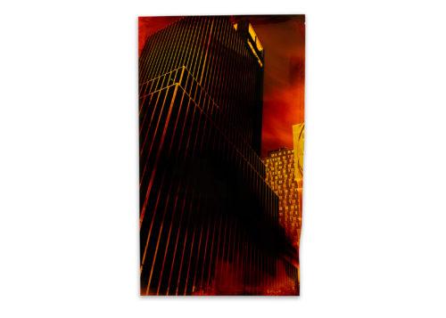 Image above: John Chiara, 10th Avenue at W33rd Street, Variation 1, 2015 Negative Chromogenic Photograph, Unique, © John Chiara, Courtesy Yossi Milo Gallery, New York