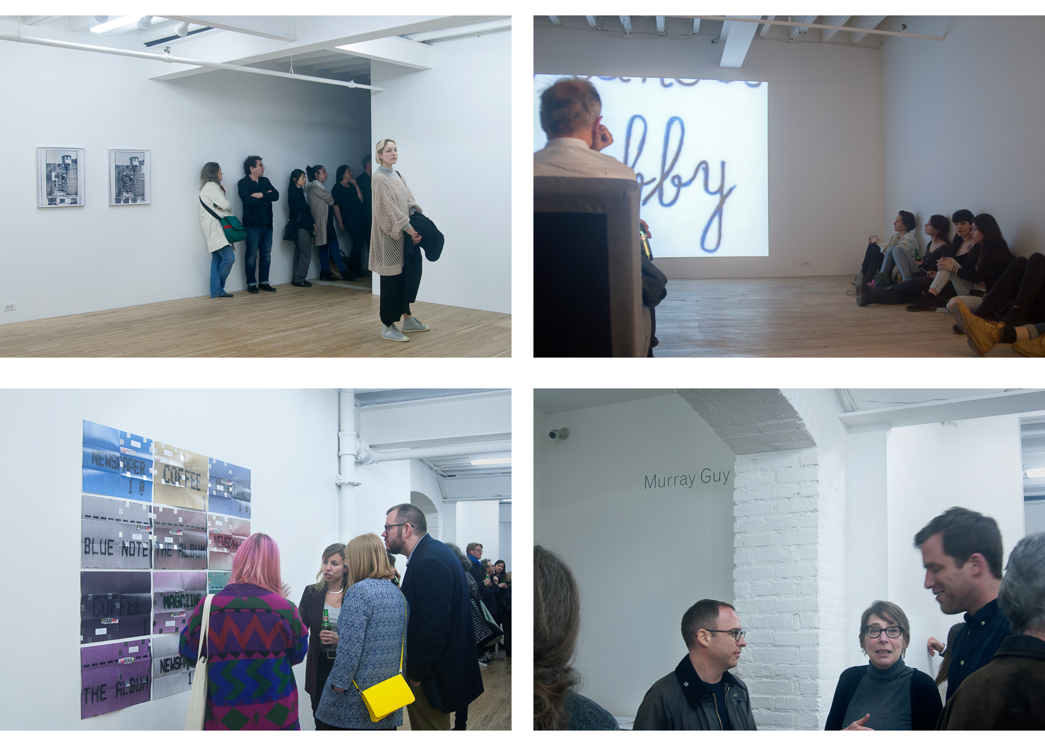 Images above: ©Sang Ha Park, Opening night, Bottom right: Janice Guy