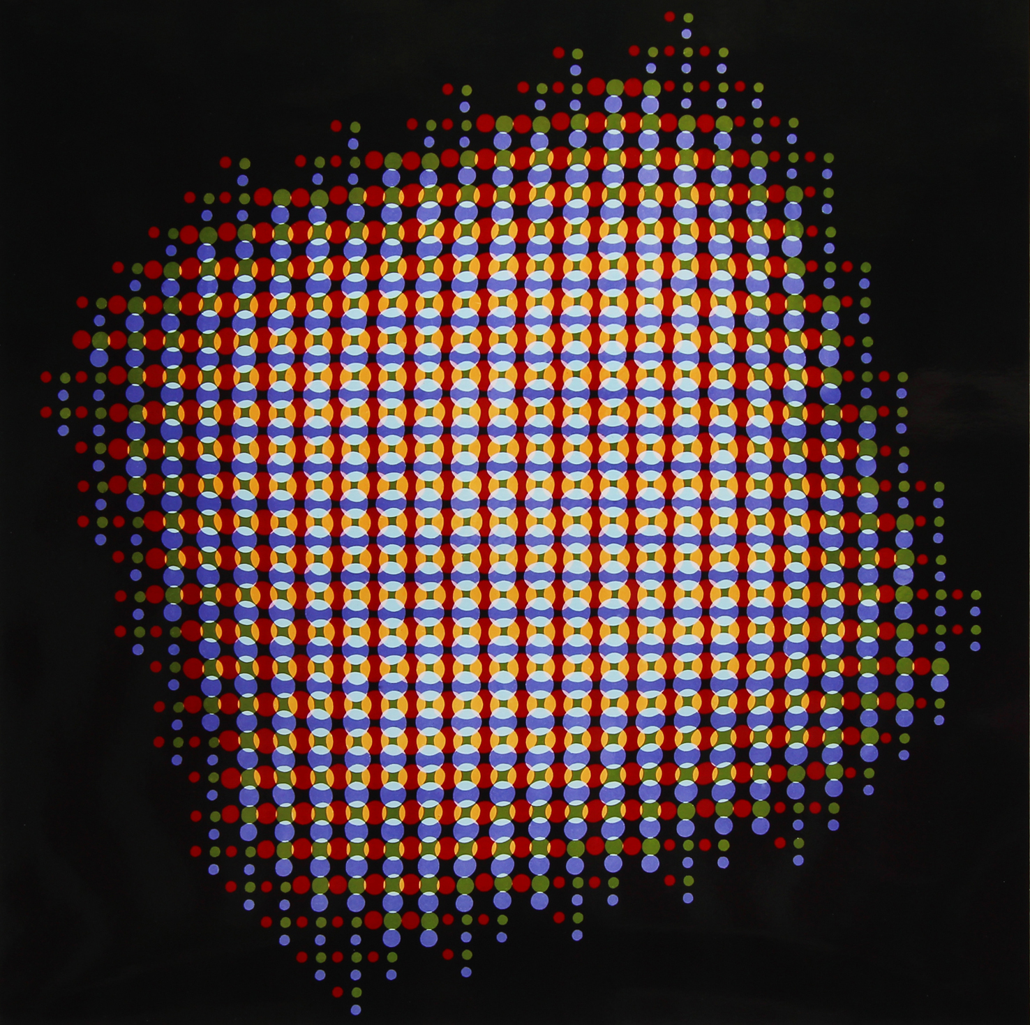 Image above: ©Gottfried Jäger,Lochblendenstruktur (Pinhole Structure) (Camera obscura work, 3.8.14 C 2.5) , 1967/2015 /Courtesy Steven Kasher Gallery, New York