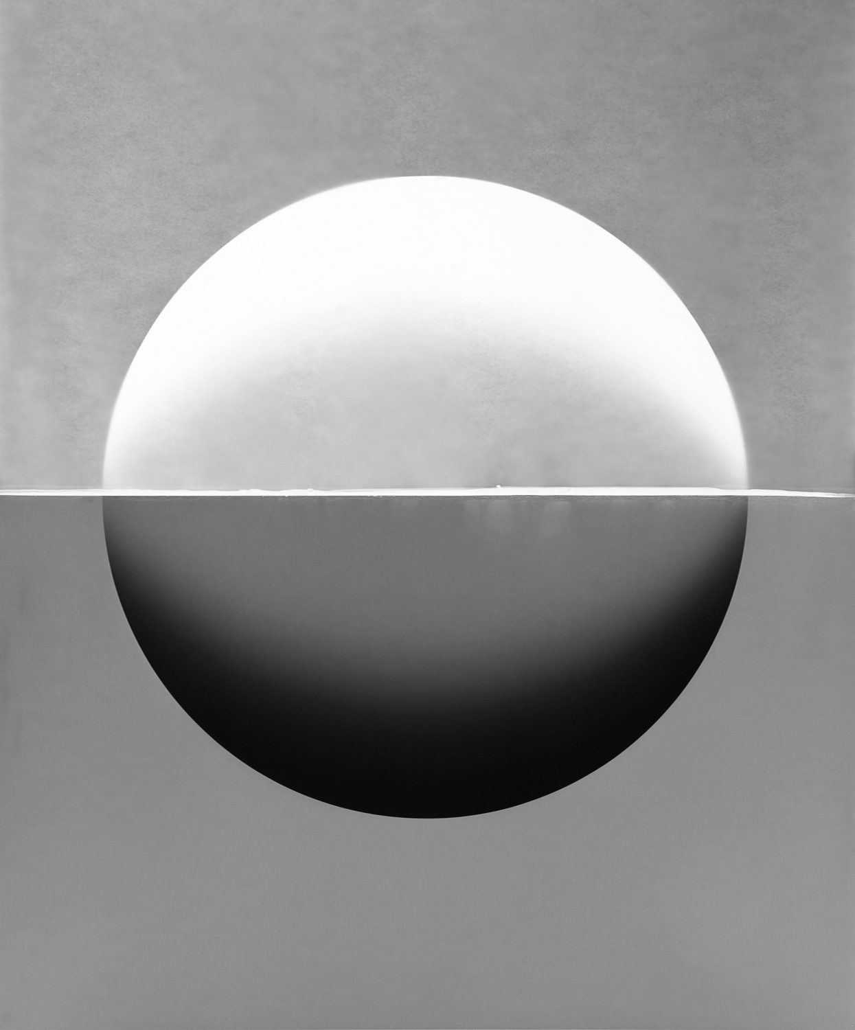 Image above: ©Caleb Charland, Double Index with Sphere #2402, 2016, Photogram on gelatin sulver paper / Courtesy of Sasha Wolf Gallery