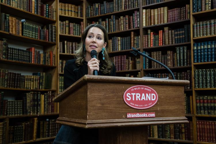 Image above: ©Elizabeth Mealey, Dr. Samantha Boardman at Strand Bookstore, 2016