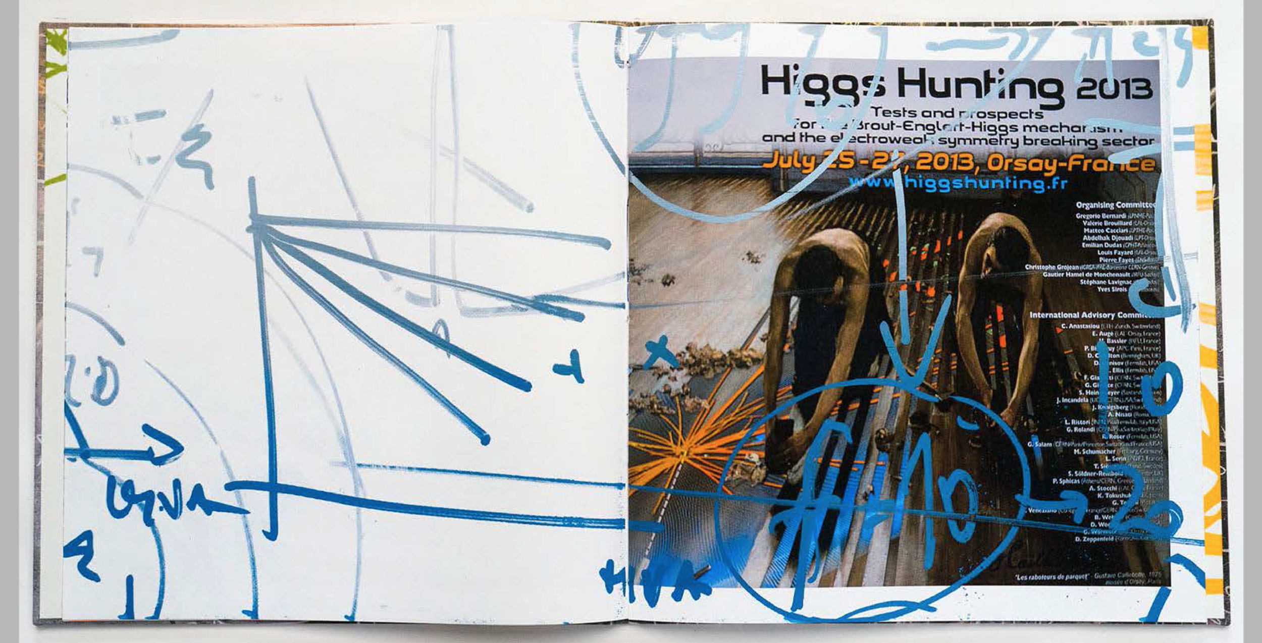 Image Above: ©Steve Miller, Higgs Hunting / Courtesy of the Artist
