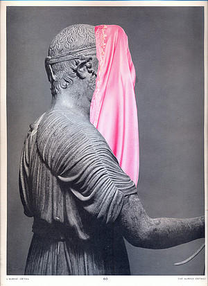 Image above: ©Nino Cais, Untitled, 2015, Collage on printed paper