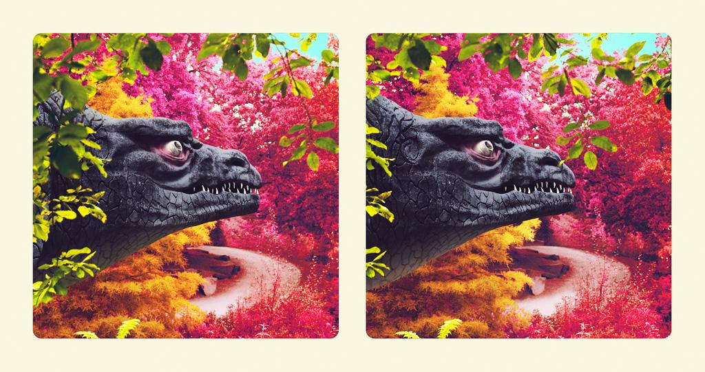 Image above: ©Jim Naughten, Megalosaurus Head, 2016 / Courtesy of Klompching Gallery, New York