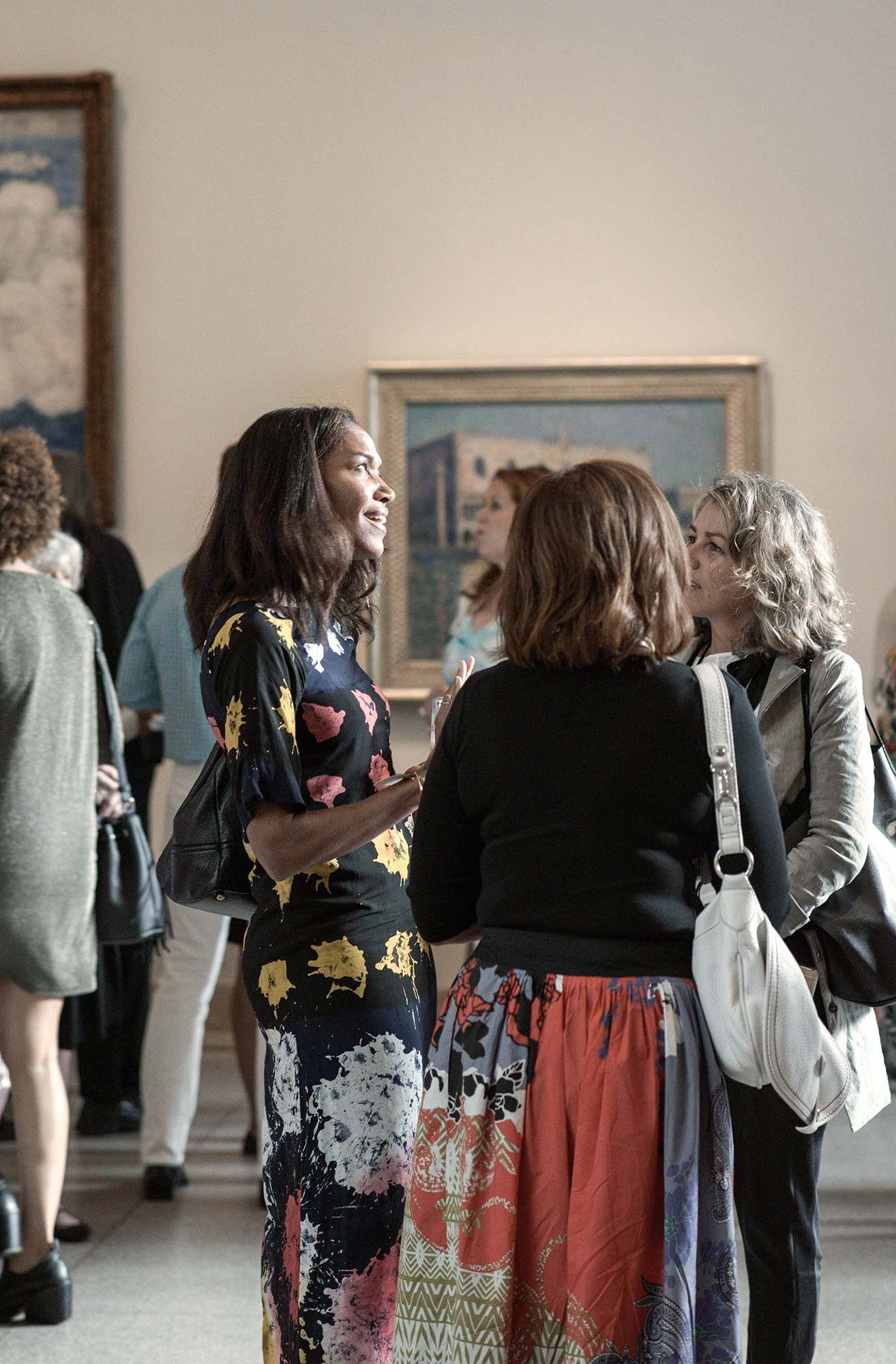Guests of the event;Photograph ©Malcolm D. Anderson