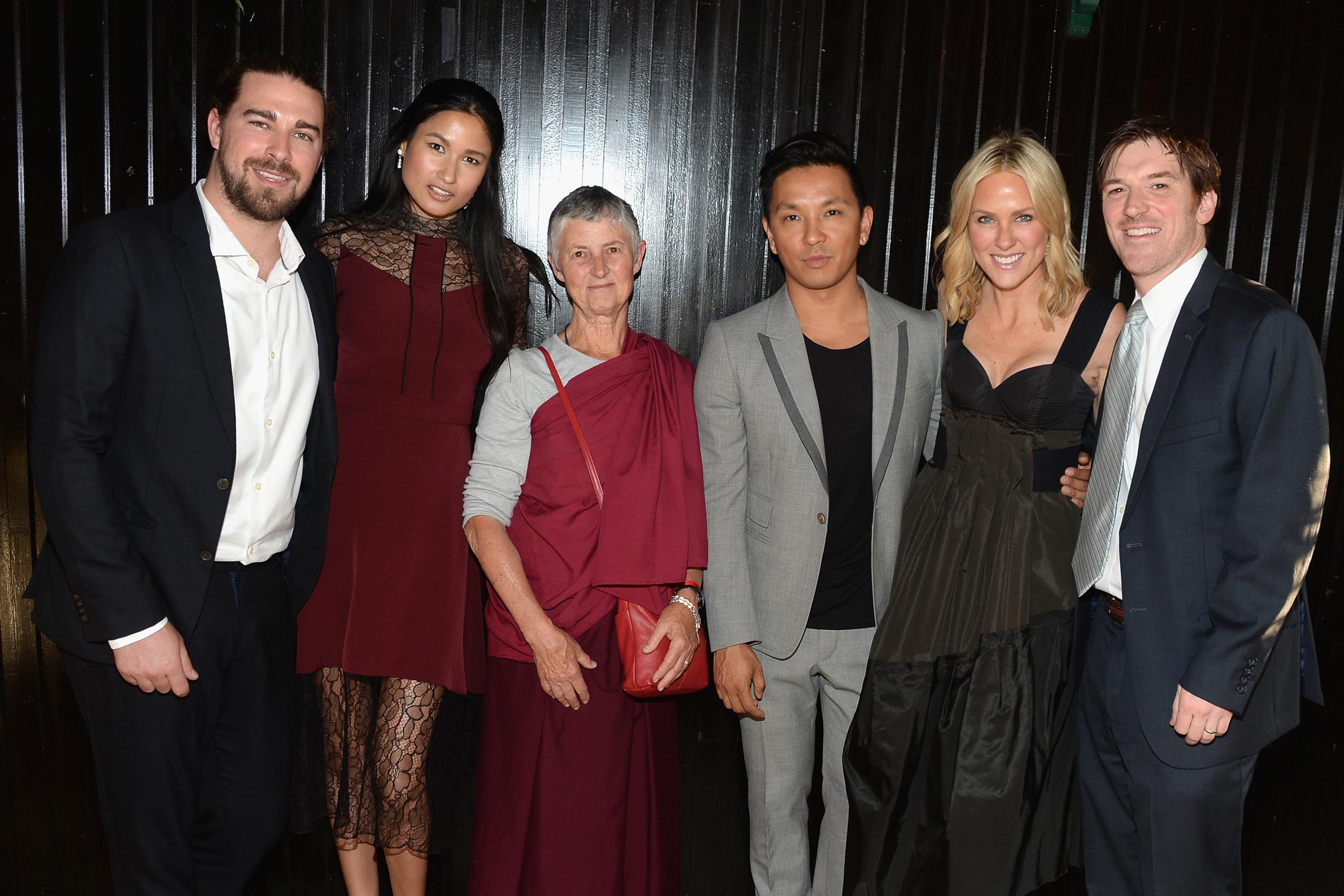 Paul Josephson. Varsha Thapa. Anna Howe. Prabal Gurung. Elizabeth and Conor Grennan.JPG