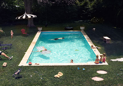Pool  (2015) Image courtesy of © Fahey/Klein Gallery