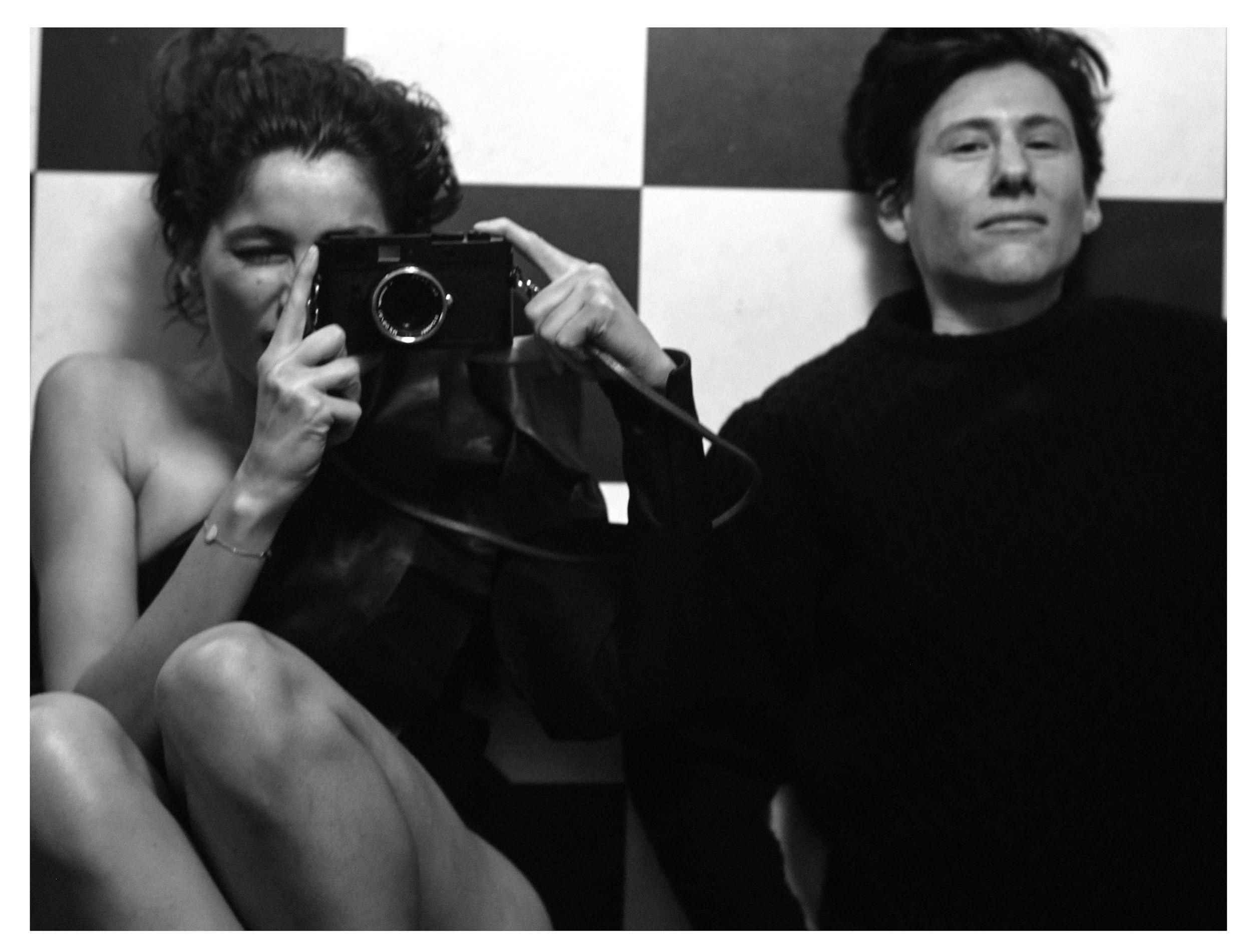 ©Collier Schorr, Laetitia with Leica, 2016 © Collier Schorr, courtesy 303 Gallery, New York