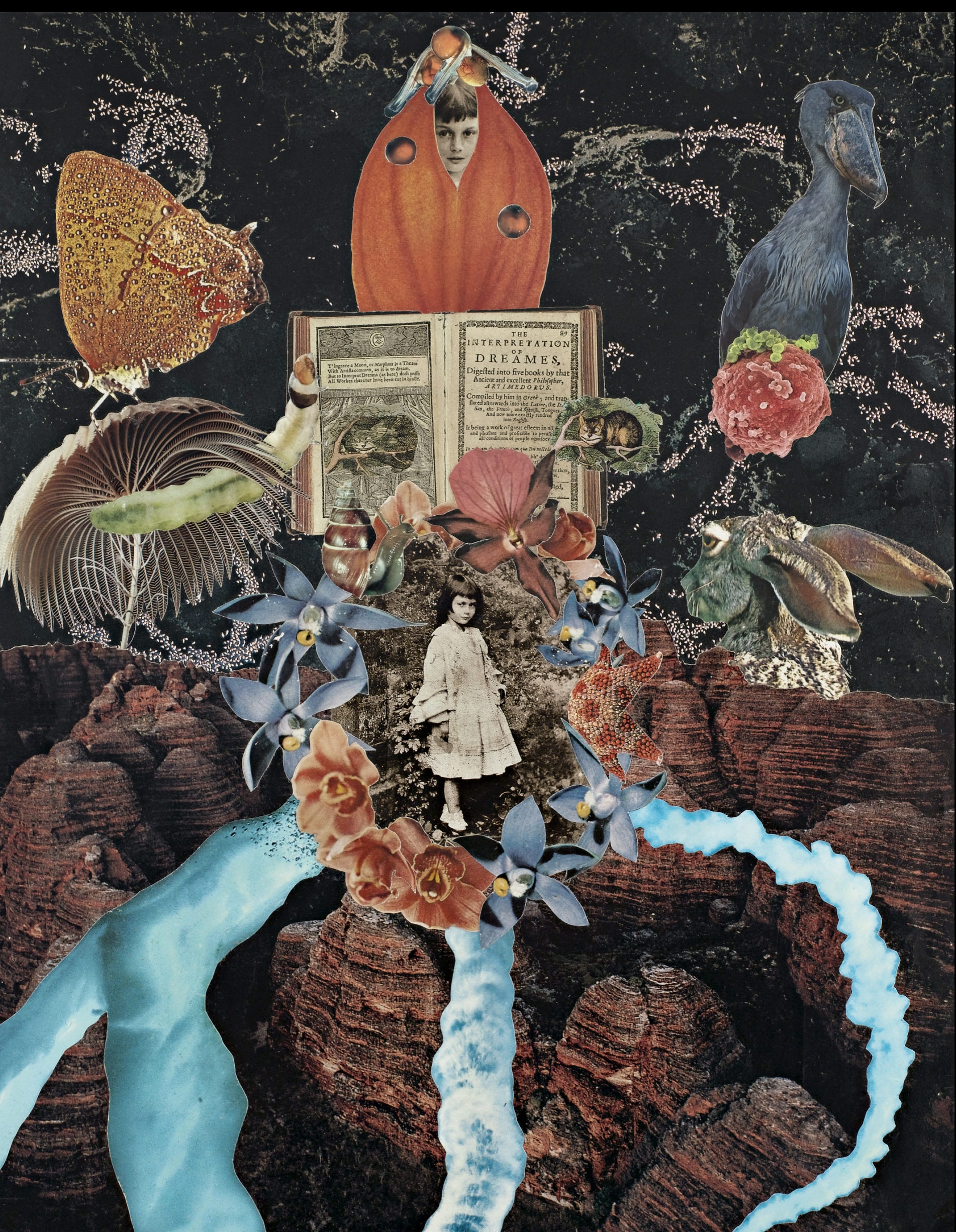 Agnieszka Sosnowska, Journey, Collage, 1994