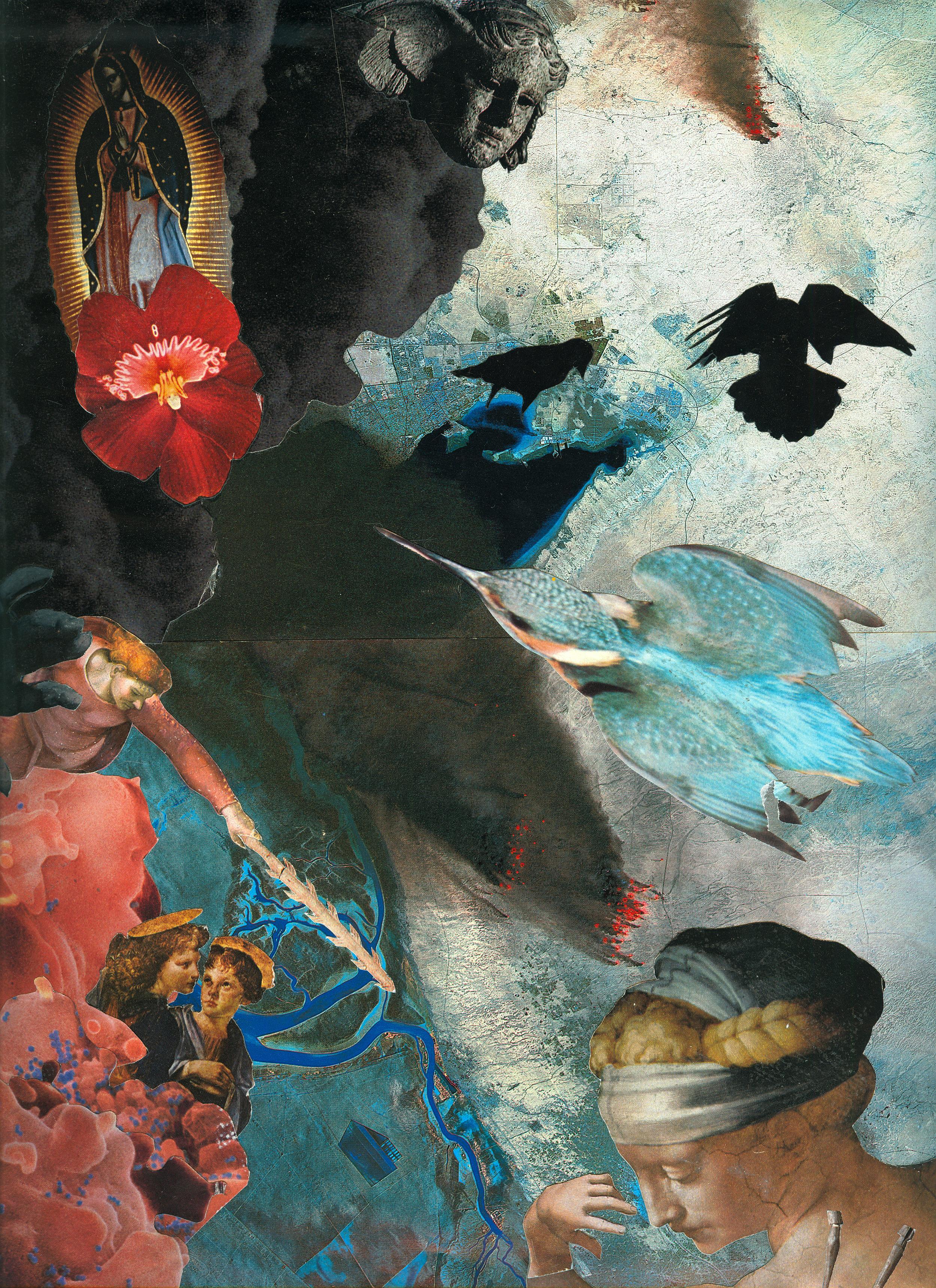 Agnieszka Sosnowska, Landing,Collage,1993