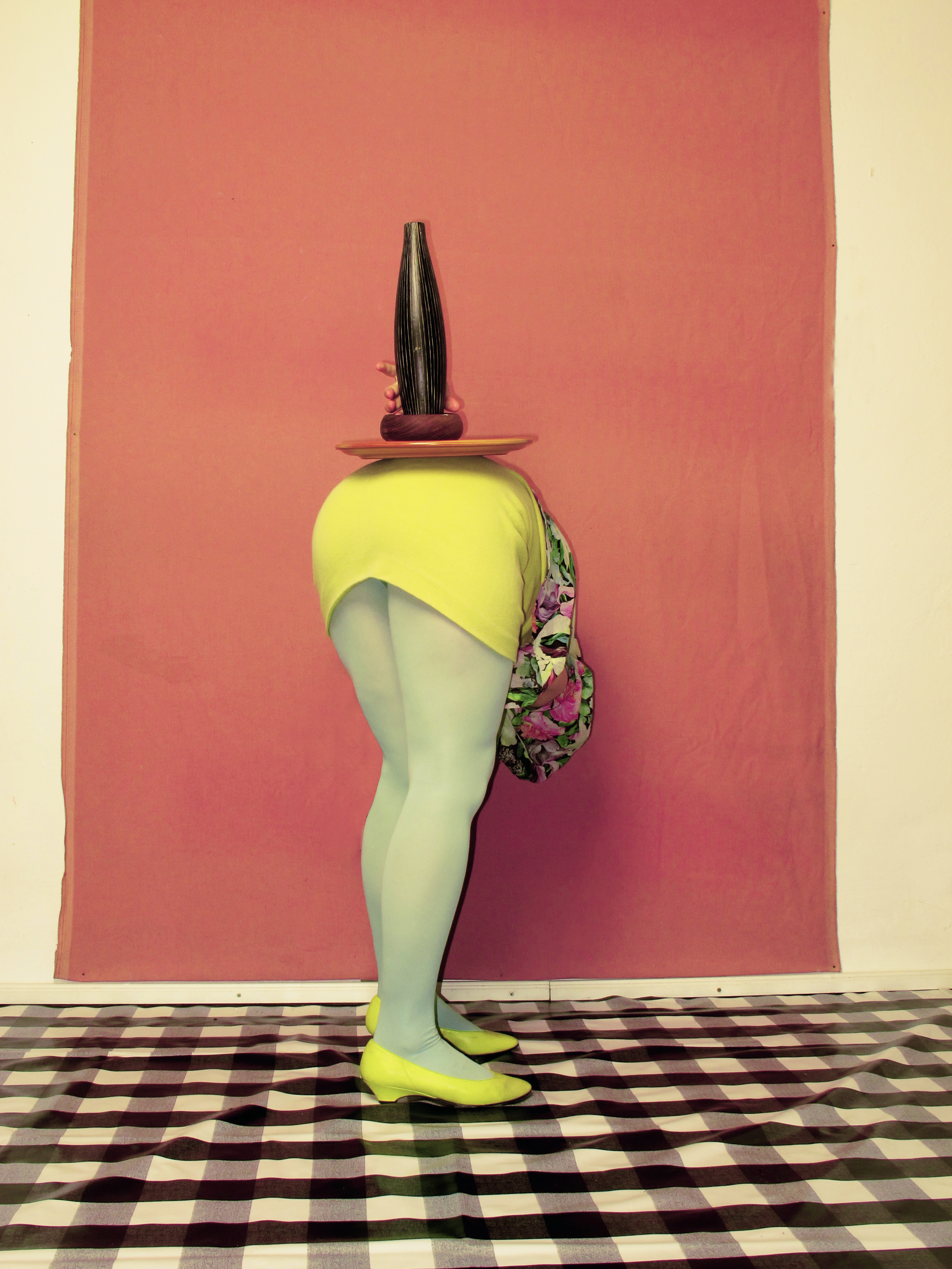 """Isabelle Wenzel, Position 6  from the series """"Positions,"""" 2014"""