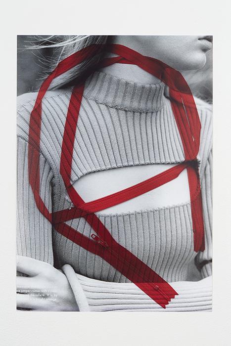 SARAH WRIGHT  BOTH WAYS, 2016  INKJET ON PHOTO PAPER 8 1/3 X 11 1/2 INCHES