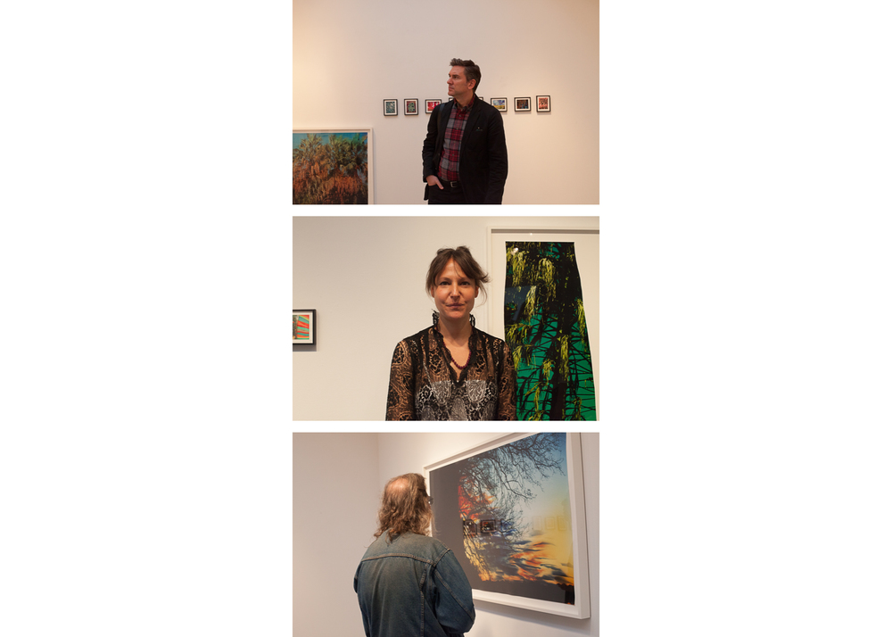 Images above: Ashley Comer, Opening night, Middle: Artist