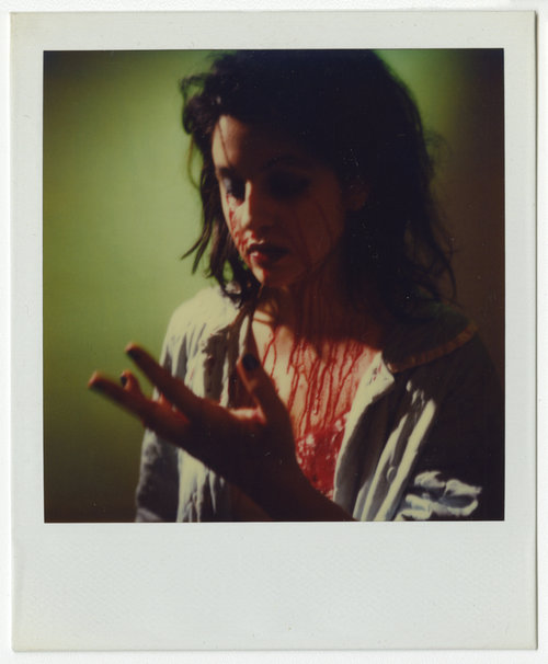 Richard Kern   Untitled  Polaroid 4 1/4 x 3 1/4 inches 1980s