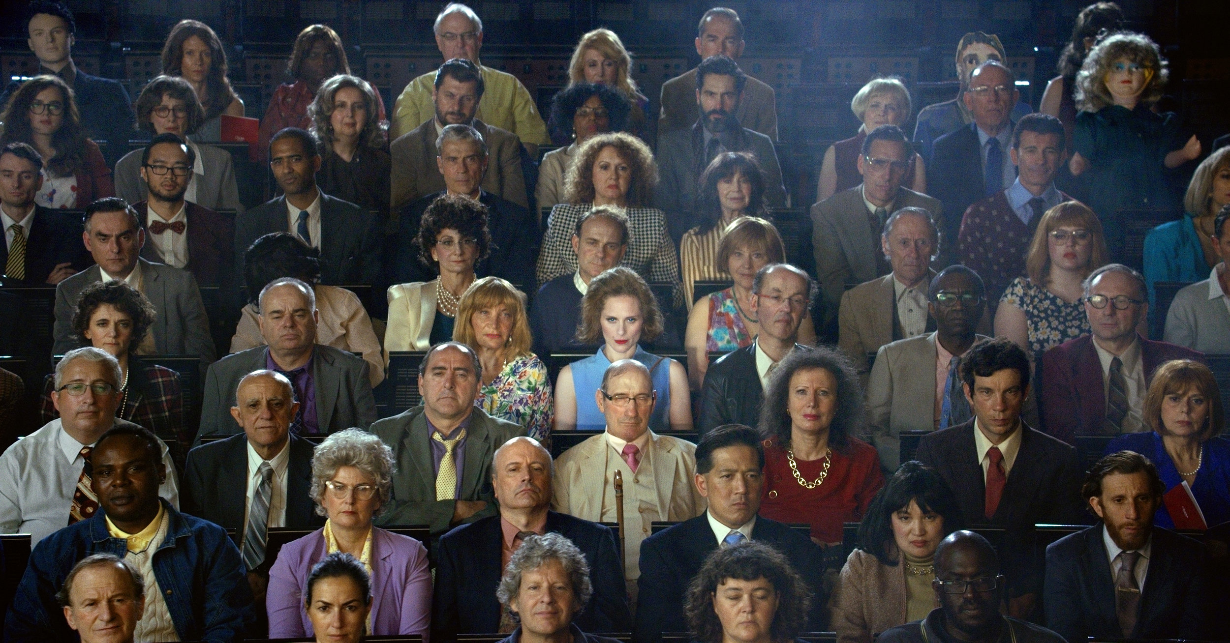ALEX PRAGER Orchestra East, Section B, 2016 archival pigment print 59 x 89.8 inches 149.9 x 228.1 cm Courtesy the artist and Lehmann Maupin, New York and Hong Kong